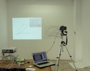 Visualisation and stop motion set up